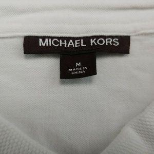 Michael Kors Shirts - Michael Kors Men's Polo Shirt White Short Sleeve S